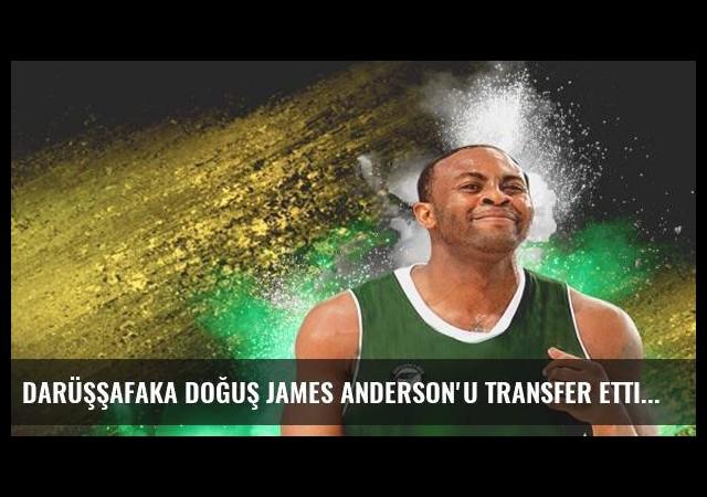 Darüşşafaka Doğuş James Anderson'u transfer etti