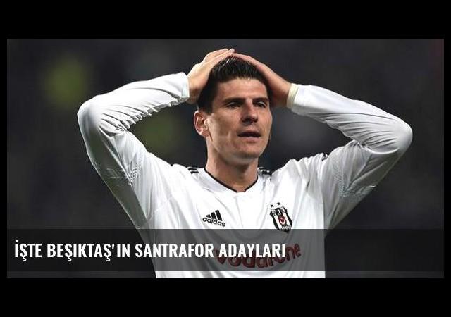 İşte Beşiktaş'ın santrafor adayları
