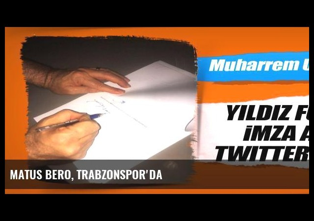 Matus Bero, Trabzonspor'da