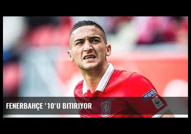 Fenerbahçe '10'u bitiriyor