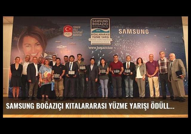 Samsung Boğaziçi Kıtalararası Yüzme Yarışı ödülleri sahiplerini buldu