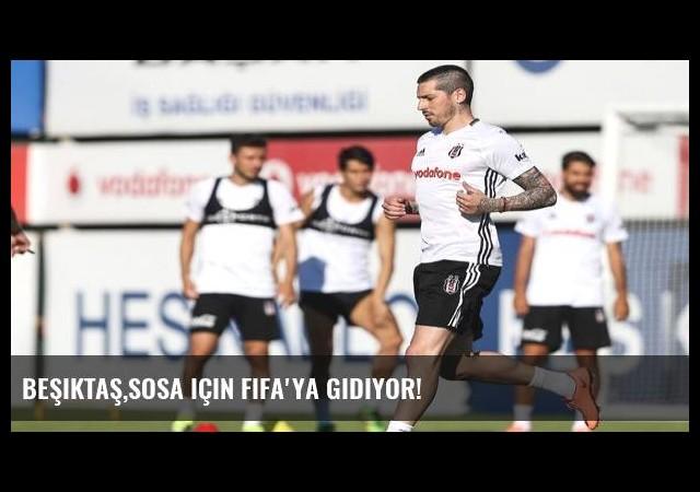 Beşiktaş,Sosa için FIFA'ya gidiyor!