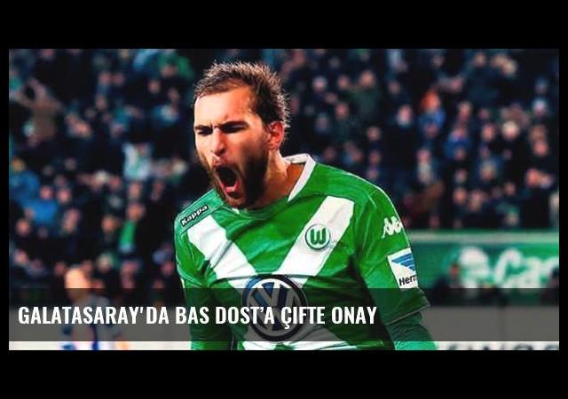 Galatasaray'da Bas Dost'a çifte onay