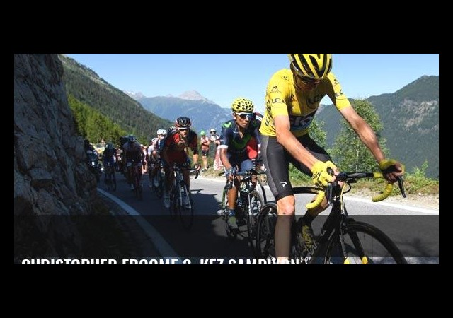 Christopher Froome 3. kez şampiyon