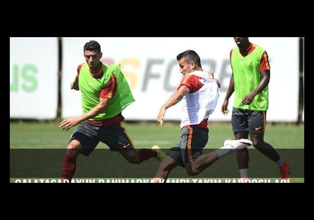 Galatasaray'ın Danimarka kampı takım kadrosu açıklandı