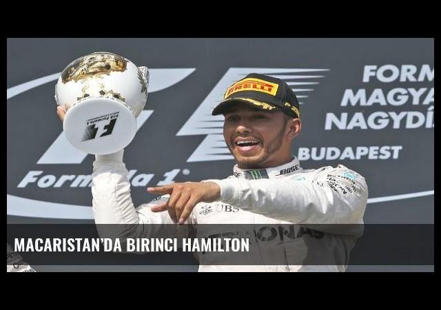 Macaristan'da birinci Hamilton