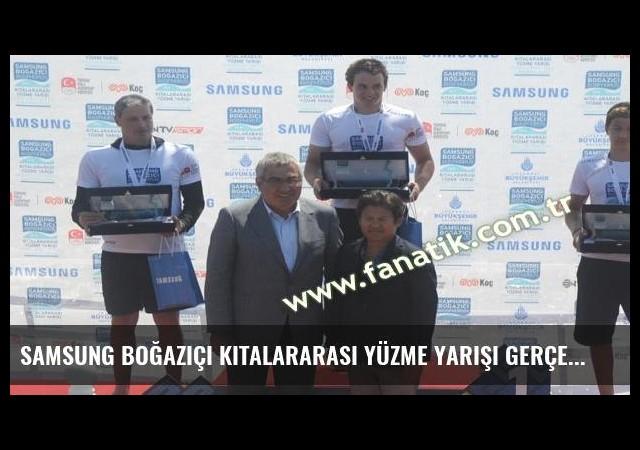 Samsung Boğaziçi Kıtalararası Yüzme Yarışı gerçekleştirildi