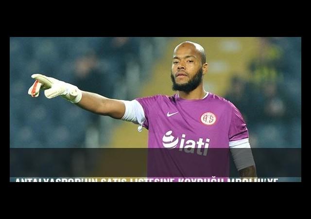 Antalyaspor'un satış listesine koyduğu Mbolhi'ye Fransız takımları talip