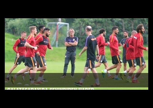 Galatasaray'da sevindiren haber