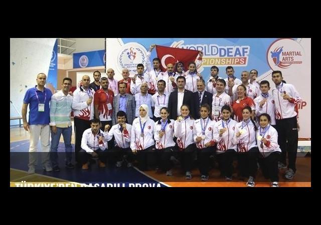 Türkiye'den başarılı prova