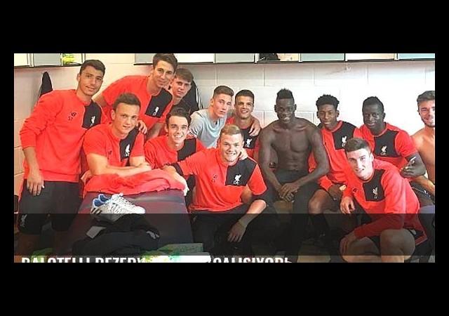 Balotelli rezerv takımla çalışıyor!