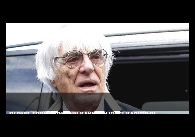 Bernie Ecclestone'un kayınvalidesi kaçırıldı