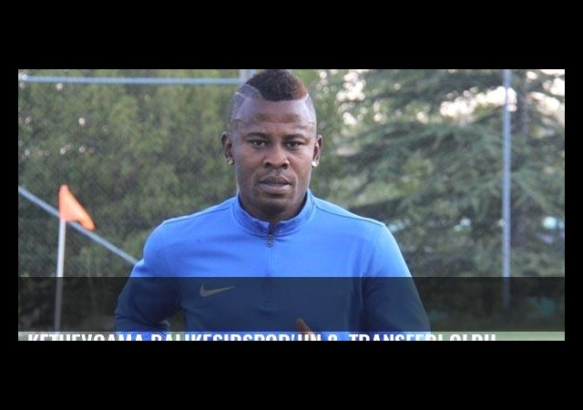 Kethevoama Balıkesirspor'un 8. transferi oldu