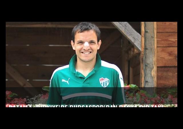 Batalla, Türkiye'de Bursaspor'dan başka bir takımda oynamayacağını söyledi