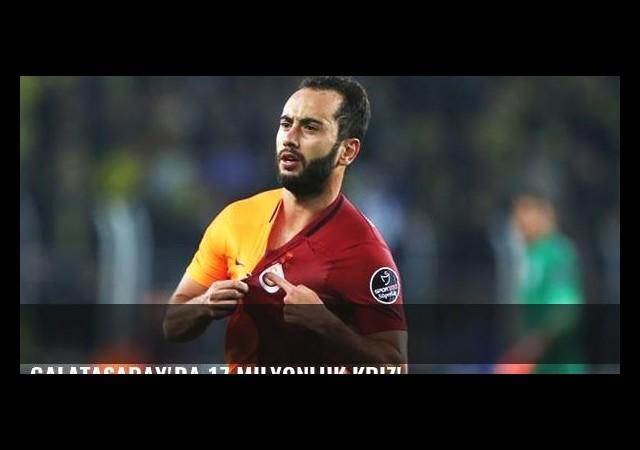 Galatasaray'da 17 milyonluk kriz!