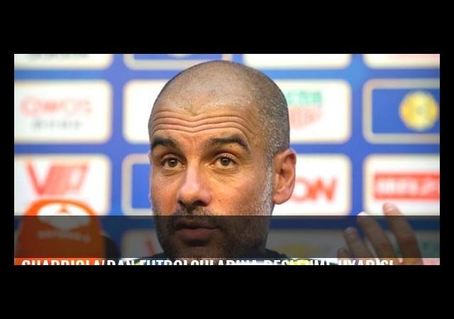 Guardiola'dan futbolcularına beslenme uyarısı