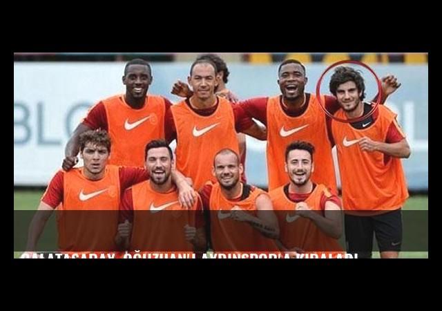 Galatasaray, Oğuzhan'ı Aydınspor'a kiraladı