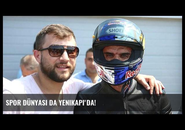 Spor dünyası da Yenikapı'da!