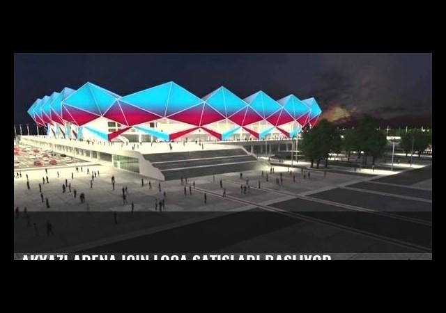 Akyazı Arena için loca satışları başlıyor...