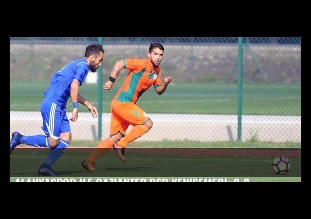 Alanyaspor ile Gaziantep BŞB yenişemedi: 2-2