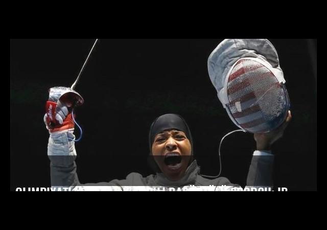 Olimpiyatlardaki ilk ABD'li başörtülü sporcu: Ibtihaj Muhammed
