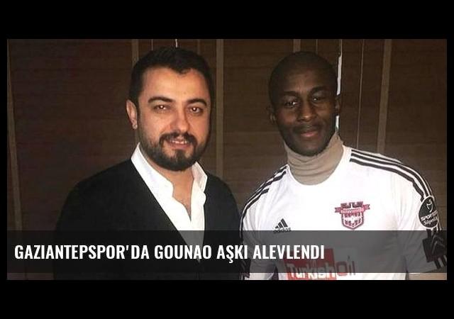 Gaziantepspor'da Gounao aşkı alevlendi