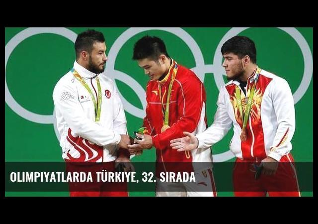 Olimpiyatlarda Türkiye, 32. sırada