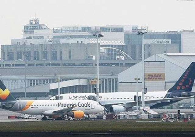 Belçika'ya gelen uçaklardaki bomba ihbarı asılsız çıktı