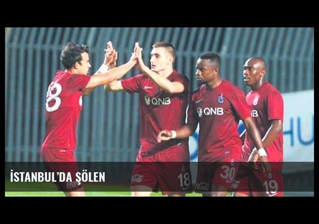 İstanbul'da şölen
