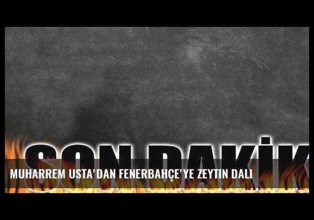 Muharrem Usta'dan Fenerbahçe'ye zeytin dalı