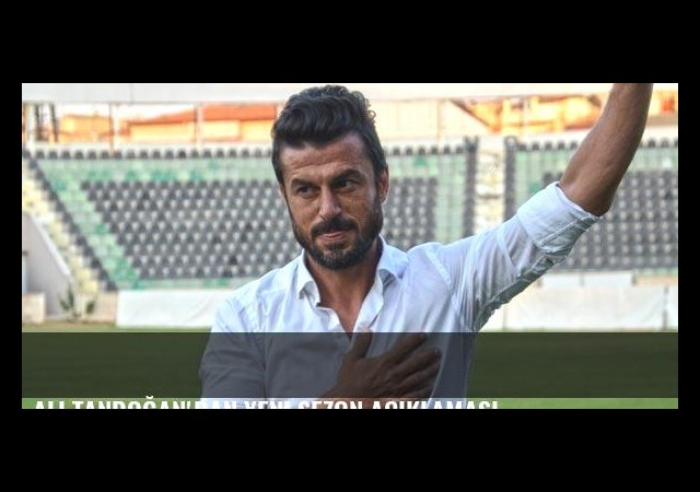 Ali Tandoğan'dan yeni sezon açıklaması