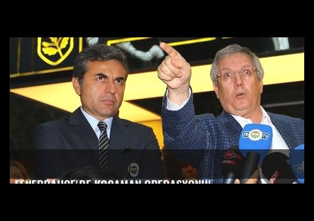 Fenerbahçe'de Kocaman operasyonu!