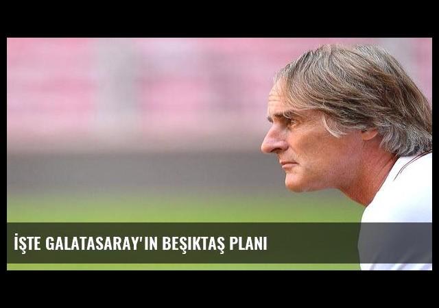 İşte Galatasaray'ın Beşiktaş planı