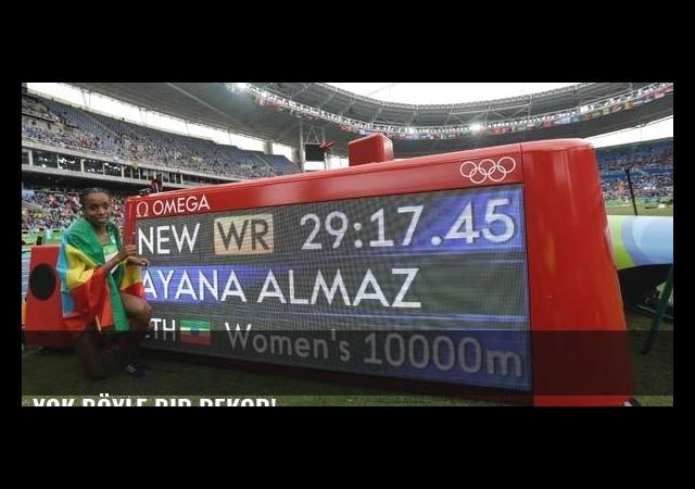 Yok böyle bir rekor!