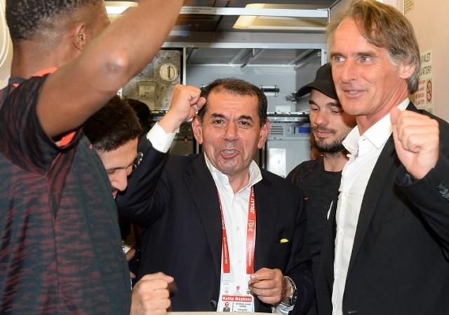 Dursun Özbek'den şampiyonluk açıklaması