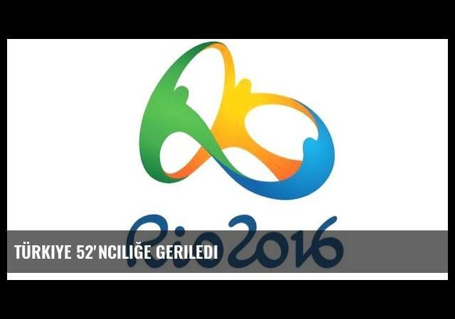 Türkiye 52'nciliğe geriledi