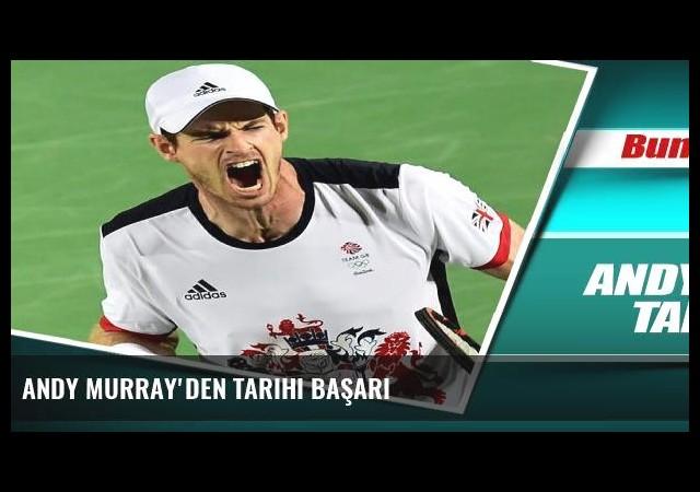 Andy Murray'den tarihi başarı