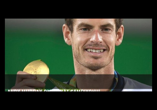 Andy Murray olimpiyat şampiyonu!