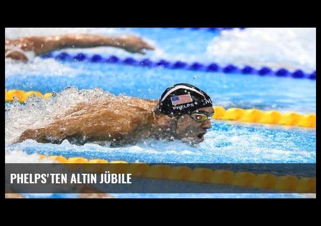 Phelps'ten altın jübile
