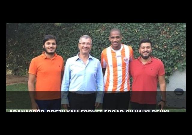 Adanaspor Brezilyalı forvet Edgar Silva'yı renklerine bağladı