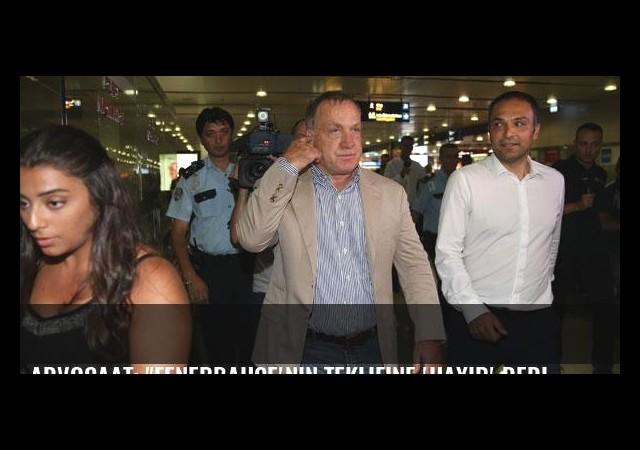 Advocaat: 'Fenerbahçe'nin teklifine 'hayır' dedim'