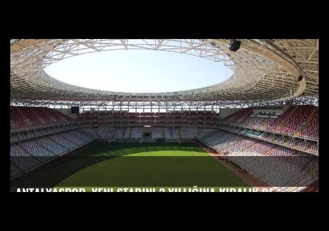 Antalyaspor, yeni stadını 3 yıllığına kiralık devralacak