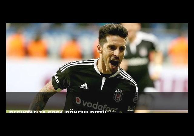 Beşiktaş'ta Sosa dönemi bitti!