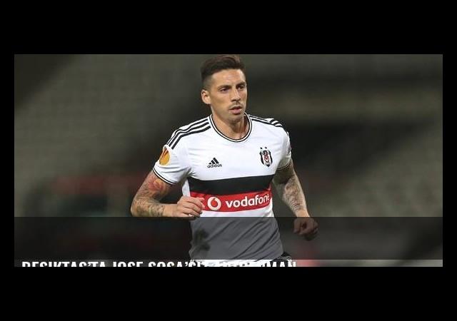 Beşiktaş'ta Jose Sosa'sız antrenman