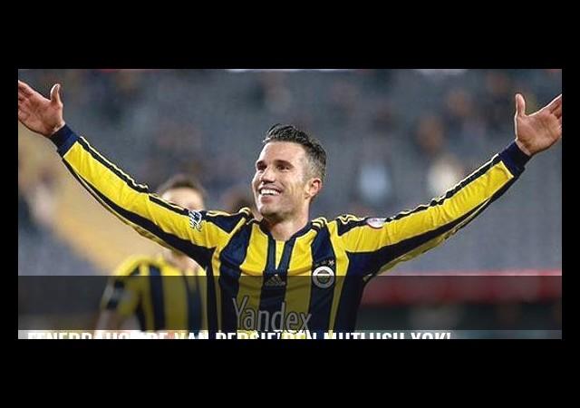 Fenerbahçe'de Van Persie'den mutlusu yok!