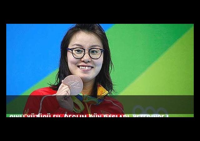 Çinli yüzücü Fu: Reglim dün başladı, yeterince iyi yüzemedim