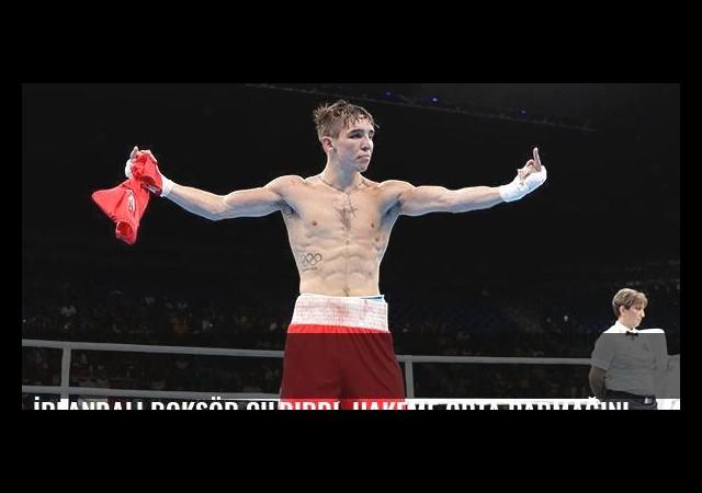 İrlandalı boksör çıldırdı, hakeme orta parmağını gösterdi!