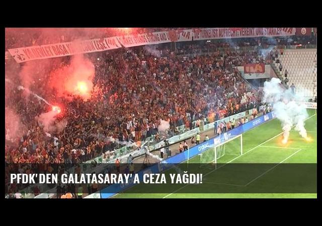 PFDK'den Galatasaray'a ceza yağdı!