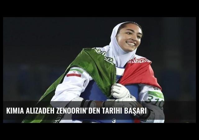 Kimia Alizadeh Zenoorin'den tarihi başarı