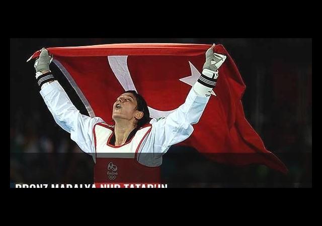 Bronz madalya Nur Tatar'ın...